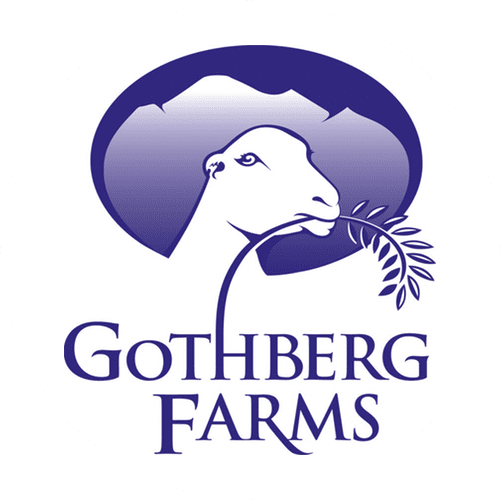 Gothberg Farms goat eating branch icon