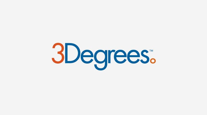 3 Degrees logo