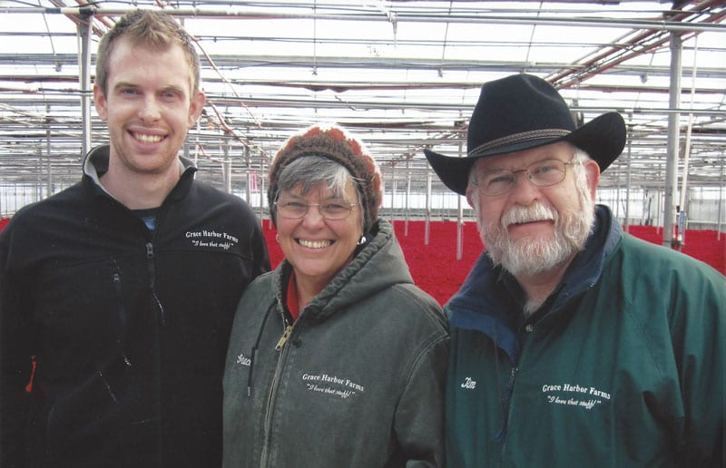 grace harbor farms owners david, grace, and tim lukens