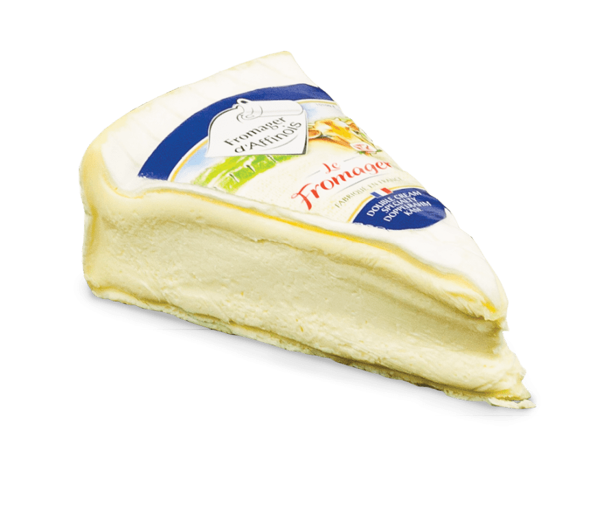 le fromager affinois cheese wedge