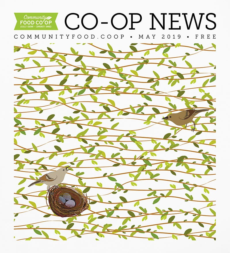 cover image of the co-op news may 2019