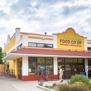 Community Food Co-op, Downtown Store, 1220 North Forest Street at Holly Street